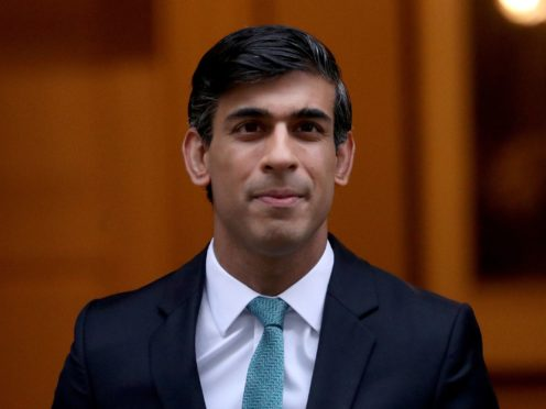 Chancellor Rishi Sunak says Britain's public finances will face 'enormous strains' in the wake of the third national lockdown (Yui Mok/PA)