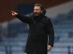 Aberdeen boss Derek McInnes is looking for goals from his team (Andrew Milligan/PA)