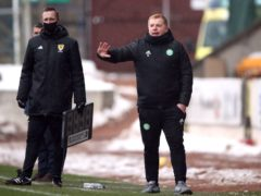 Neil Lennon quite comfortable with position as Celtic boss amid a review (Ian McNichol/PA)
