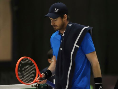 Andy Murray lost in straight sets (Felice Calabro/AP)