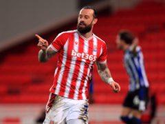 Steven Fletcher broke the deadlock late on for Stoke (Mike Egerton/PA)