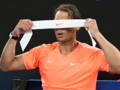 Rafael Nadal (pictured) lost a five-setter to Stefanos Tsitsipas (Hamish Blair/AP)