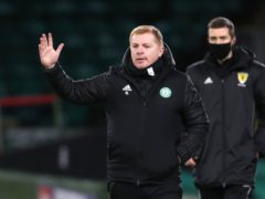 Celtic manager Neil Lennon is looking ahead to a positive end to the season (Andrew Milligan/PA)