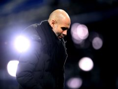 Pep Guardiola said he had little time to reflect on City's record-breaking run (Michael Regan/PA)