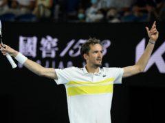 Daniil Medvedev will take on Novak Djokovic on Sunday (Andy Brownbill/AP)
