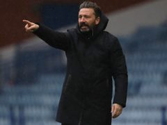 Aberdeen manager Derek McInnes is backing his team to claim third place in the Scottish Premiership (Andrew Milligan/PA Images).