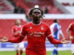 Alex Mighten netted for Nottingham Forest (Barrington Coombs/PA)