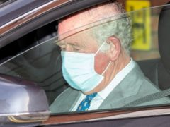The Prince of Wales was in the King Edward VII Hospital to visit his father for around 30 minutes (Dominic Lipinski/PA)