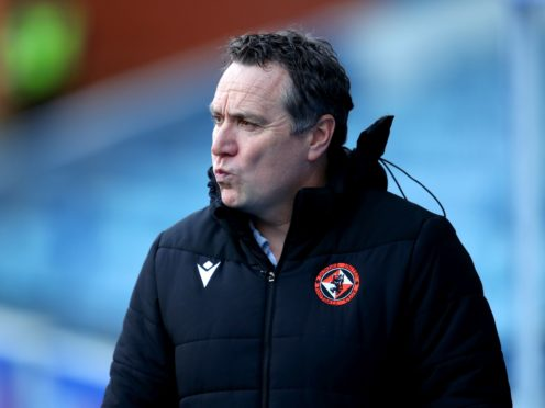 Dundee United manager Micky Mellon (PA)