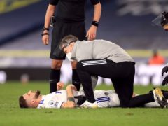 Leeds' Mateusz Klich is an injury doubt after being hurt in the win over Southampton (Mike Egerton/PA)