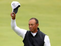 Is it goodbye from Tiger Woods? (PA)