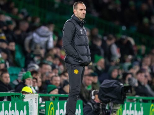 Celtic interim boss John Kennedy focusing only on the here and now (Kenny Smith/PA)