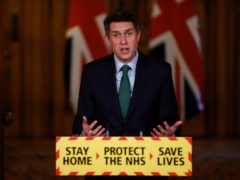 Education Secretary Gavin Williamson during a media briefing in Downing Street, London, on coronavirus (COVID-19).