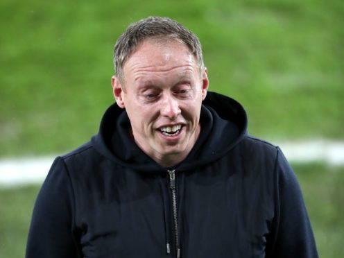 Steve Cooper was a happy man after Swansea's win (Nick Potts/PA)