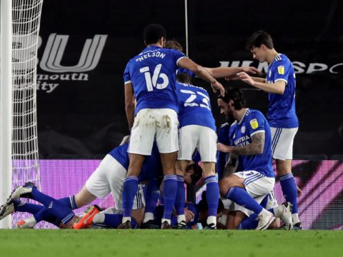 Cardiff were winners at Bournemouth (Andrew Matthews/PA)