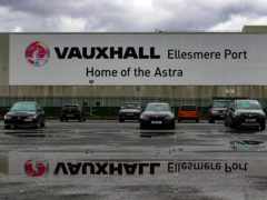 The Vauxhall plant in Ellesmere Port, Cheshire (Peter Byrne/PA)