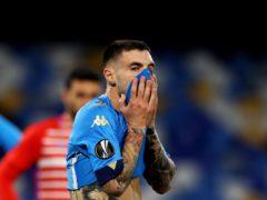 Napoli have crashed out of the Europa League (Alessandro Garofalo/AP)