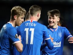 Nathan Patterson scored for Rangers (Andrew Milligan/PA)