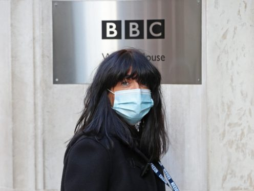 Claudia Winkleman arrives at BBC Wogan House (Jonathan Brady/PA)
