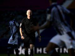 Lee Mason has suffered an injury (Peter Powell/PA)