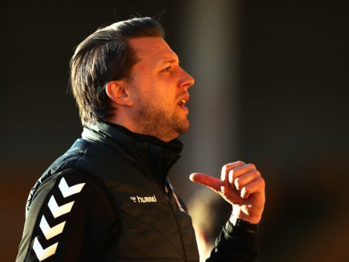 Cambridge manager Mark Bonner felt the win at Port Vale was a collective effort (Bradley Collyer/PA)