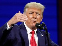 Former president Donald Trump (John Raoux/AP)