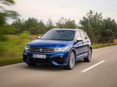 The Tiguan R is powered by a turbocharged petrol engine