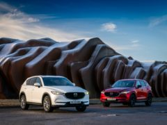Updates have been applied across the board for the CX-5