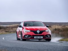 The Megane has been given a light facelift
