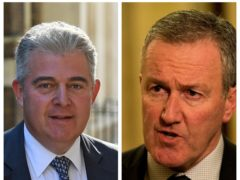 Brandon Lewis and Conor Murphy have traded criticism over each other's position in the impasse (PA)