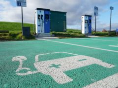 "EMBARGOED TO 2230 TUESDAY NOVEMBER 17 File photo dated 4/2/2020 of electric vehicle charging points. Sales of new petrol and diesel cars and vans will be phased out by 2030, Boris Johnson has confirmed as he set out his 10-point plan for a ""green industrial revolution""."