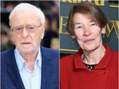 Oscar-winning British stars Sir Michael Caine and Glenda Jackson will star in comedy-drama The Great Escaper, it has been announced (Ian West/Matt Crossick/PA)