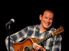 Dave Bartram on stage (Dave Bartram/PA)