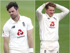 James Anderson and Dom Bess are out of the England side for the second Test (PA)