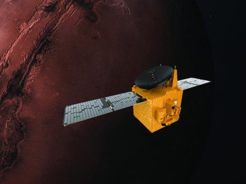 Hope Probe (Mohammed Bin Rashid Space Centre/PA)