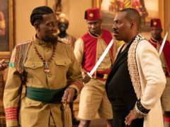 Wesley Snipes and Eddie Murphy in Coming 2 America (Amazon Studios/PA)