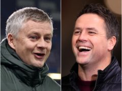 Ole Gunnar Solskjaer celebrated his birthday while Michael Owen forgot a key cycling rule (Clive Brunskill/ Mike EgertonPA)
