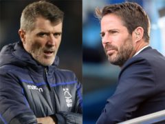 Jamie Redknapp and Roy Keane (Nick Potts/Michael Regan/PA)