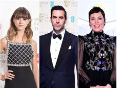 Daisy Edgar-Jones, Sacha Baron Cohen and Olivia Colman are nominated (PA)