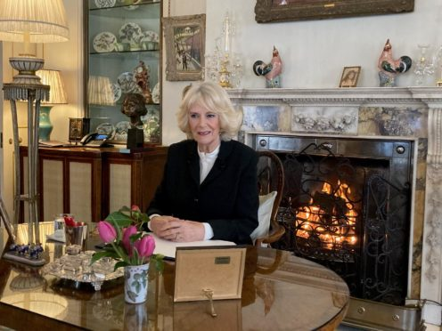 The Duchess of Cornwall, patron of SafeLives (Clarence House/PA)