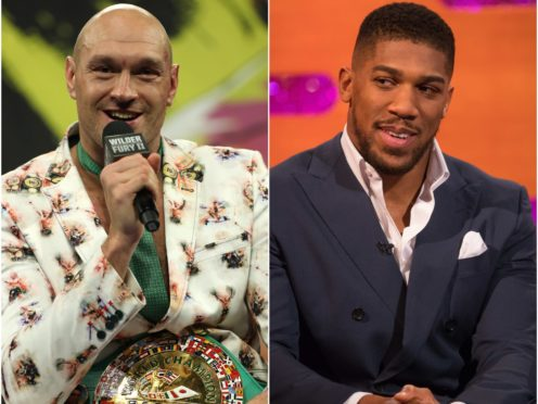 Tyson Fury says his fight with Anthony Joshua is no closer to being agreed (PA)