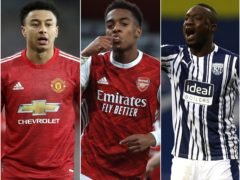 Jesse Lingard, Joe Willock and Mbaye Diagne all completed moves in January (Martin Rickett/PA/Adam Davy PA/Jason Cairnduff/PA)