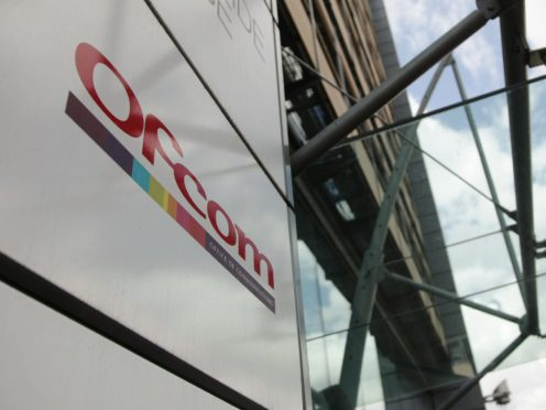 Ofcom's new hub is expected to be operational by the summer (Yui Mok/PA)