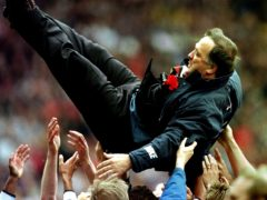 Dick Advocaat led Rangers to two Premiership titles (David Cheskin/PA)