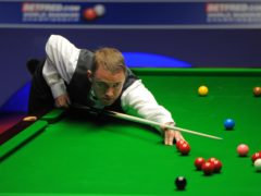 Stephen Hendry was beaten by Matthew Selt on his snooker comeback (Andrew Matthews/PA)