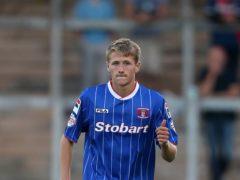 Patrick Brough scored twice (Lynne Cameron/PA)
