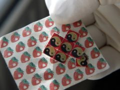 Drugs and drug-taking equipment – a sheet of LSD tabs (Paul Faith/PA)