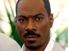 Actor Eddie Murphy was inducted into the Hall of Fame (Anthony Harvey/PA)