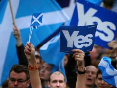 Two polls indicate less than half of Scots would vote yes in an independence referendum (Andrew Milligan/PA)