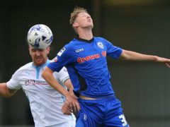 Joe Bunney (right) could return for Grimsby (Dave Thompson/PA)